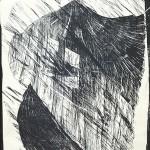 ΚΑΤΑΙΓΙΔΑ Ξυλογραφία, 52,5 x 42 εκ., 1964
