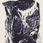 ΑΠΟ ΤΑ ΠΑΘΗ Ξυλογραφία, 46 x 38 εκ., 1964