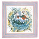 ΑΕΤΟΦΩΛΙΑ Μικτή τεχνική σε μουσαμά, 150 x 150 εκ., 1967