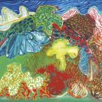 ΜΕΣΣΗΝΙΑΚΟ ΤΟΠΙΟ Λάδι σε μουσαμά, 89 x 110 εκ., 1977