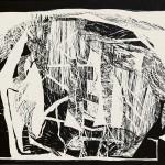 ΜΟΤΙΒΑ Ξυλογραφία, 39 x 54 εκ., 1964