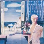 ΤΟ ΑΓΑΛΜΑ Ακρυλικό σε μουσαμά, 100 x 110 εκ., 1983