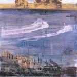 ΜΕΙΟΝ ΕΝΑΣ Μικτή τεχνική σε μουσαμά, 130 x 100 εκ., 1972