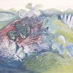 ΜΕΣΣΗΝΙΑΚΟ Λάδι σε μουσαμά, 81 x 100 εκ., 1975