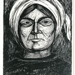 ΜΑΝΙΑΤΙΣΣΑ  Ξυλογραφία, 34,5 x 24 εκ., 1959
