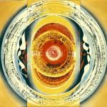 ΤΡΙΠΤΥΧΟ Μικτή τεχνική σε μουσαμά, 150 x 155 εκ., 1968