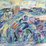 ΜΕΣΣΗΝΙΑΚΟ Λάδι σε μουσαμά, 112 x 162 εκ., 1978
