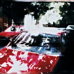 ΟΔΟΣ ΣΠΕΥΣΙΠΠΟΥ Μικτή τεχνική σε πλέξιγκλας, 100 x 170 εκ., 1998