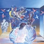 Η ΓΕΝΝΗΣΗ ΤΗΣ ΑΦΡΟΔΙΤΗΣ Μικτή τεχνική σε μουσαμά, 150 x 195 εκ., 1993