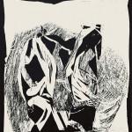 ΜΕΤΑΜΟΡΦΩΣΗ Ξυλογραφία, 53 x 46,5 εκ., 1964