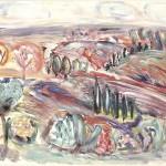 ΜΕΣΣΗΝΙΑΚΟ Λάδι σε μουσαμά, 112 x 162 εκ., 1979
