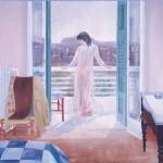Η ΑΘΗΝΑΙΑ Ακρυλικό σε μουσαμά, 150 x 180 εκ., 1983