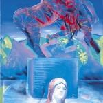 ΑΝΤΙΠΟΛΕΜΙΚΟ Ακρυλικό σε μουσαμά, 175 x 90 εκ., 1986