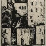 ΥΔΡΑ  Ξυλογραφία, 46,5 x 30 εκ., 1959