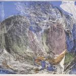 ΚΙΝΗΣΗ ΚΑΙ ΦΩΣ 2  Έγχρωμη λιθογραφία, 47 x 61 εκ., 1965