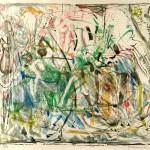 ΤΟΠΙΟ Έγχρωμη λιθογραφία, 44,5 x 45 εκ., 1966