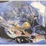 ΚΙΝΗΣΗ ΚΑΙ ΦΩΣ 2 Έγχρωμη λιθογραφία, 44,5 x 53 εκ., 1964