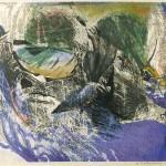 ΦΑΝΤΑΣΤΙΚΟ ΤΟΠΙΟ Έγχρωμη λιθογραφία, 46 x 61 εκ., 1966