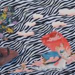 Η ΑΡΠΑΓΗ ΤΗΣ ΕΥΡΩΠΗΣ, ΠΑΡΑΛΛΑΓΗ ΑΠΟ ΤΟ ΕΡΓΟ ΤΟΥ ΦΡΑΝΣΟΥΑ ΑΛΜΠΑΝΙ Λάδι σε ύφασμα, 110 x 140 εκ., 2005