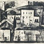 ΥΔΡΑ  Χαλκογραφία, 33 x 48,5 εκ., 1960