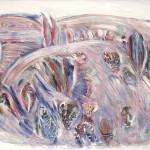 ΤΟΠΙΟ Λάδι σε μουσαμά, 112 x 162 εκ., 1979
