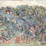 ΤΟΠΙΟ Λάδι σε μουσαμά, 112 x 162 εκ., 1977