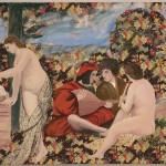 ΠΟΙΜΕΝΙΚΟ ΚΟΝΣΕΡΤΟ, ΠΑΡΑΛΛΑΓΗ ΑΠΟ ΤΟ ΕΡΓΟ ΤΟΥ ΤΙΤΣΙΑΝΟΥ Λάδι σε ύφασμα, 120 x 160 εκ., 2005