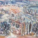 ΜΕΣΣΗΝΙΑΚΟ ΤΟΠΙΟ Λάδι σε μουσαμά, 112 x162 εκ., 1979