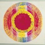 ΗΛΙΟΣ Ο ΠΡΩΤΟΣ Έγχρωμη λιθογραφία, 45 x 45 εκ., 1968