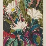 ΜΑΡΓΑΡΙΤΕΣ  Έγχρωμη ξυλογραφία, 35 x 25,5 εκ., 1960
