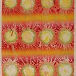ΗΛΙΟΙ Έγχρωμη λιθογραφία, 51 x 35 εκ., 1969