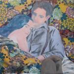 ΟΙ ΕΡΩΤΕΥΜΕΝΟΙ Λάδι σε μουσαμά, 81 x 100 εκ., 2005