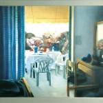 ΒΕΡΑΝΤΑ ΕΞΟΧΙΚΟΥ Μικτή τεχνική σε πλέξιγκλας, 120 x 165 εκ., 1998