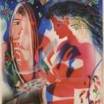 ΤΟ ΟΝΕΙΡΟ Λάδι σε μουσαμά, 70 x 50 εκ., 2006