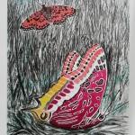 ΠΕΤΑΛΟΥΔΑ Λιθογραφία, 50 x 37 εκ., 2010