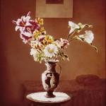 ΒΑΖΟ ΜΕ ΛΟΥΛΟΥΔΙΑ Ζωγραφική με φως, 100 x 83 εκ., 1975