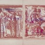 ΕΠΙΖΩΓΡΑΦΙΖΜΕΝΕΣ ΜΕΤΑΞΟΤΥΠΙΑ ΓΙΑ ΤΟ ΥΠΟΚΑΤΑΣΤΗΜΑ ΕΘΝΙΚΗ ΤΡΑΠΕΖΑ ΣΤΟ ΣΙΚΑΓΟ, 2 x 3 μέτρα, 1974